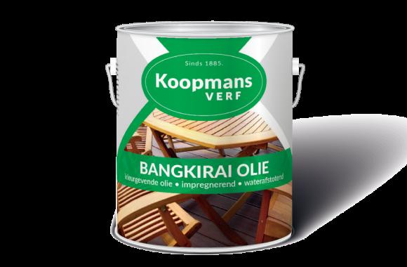 Bangkirai Olie Koopmans Verf