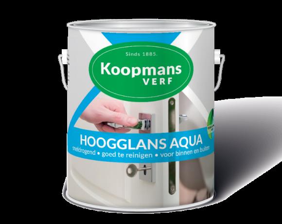 Hoogglans Aqua Koopmans Verf