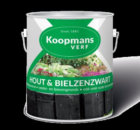 Hout en Bielzenzwart Koopmans Verf