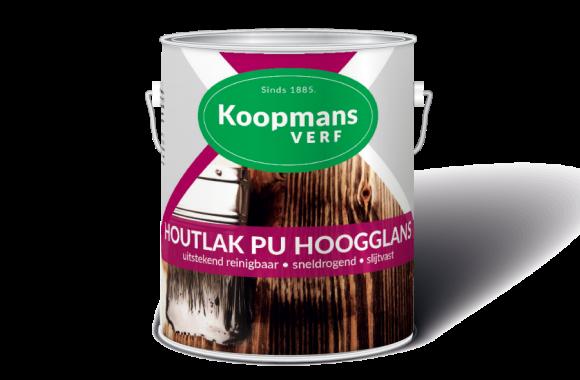 Houtlak PU Hoogglans Koopmans Verf