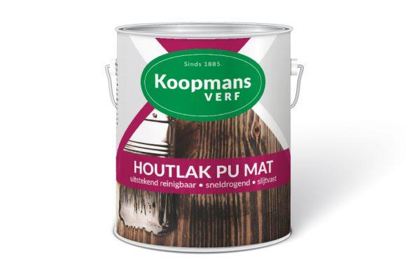 Houtlak PU Mat Koopmans Verf