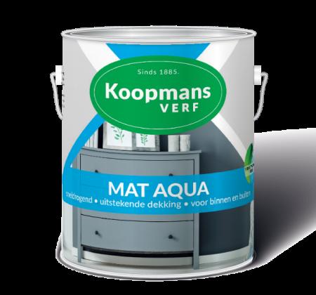 Mat Aqua Koopmans Verf
