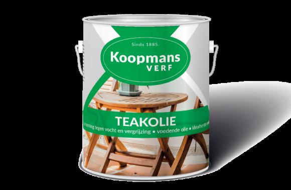 Teakolie Koopmans Verf