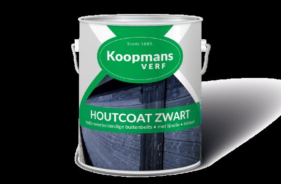 Houtcoat Zwart Koopmans Verf
