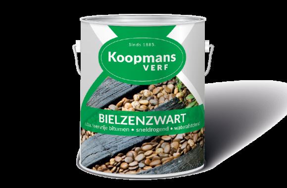 Bielzenzwart Koopmans Verf