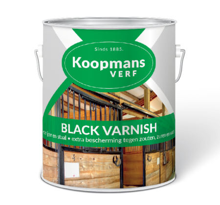 Black Varnish Koopmans Verf